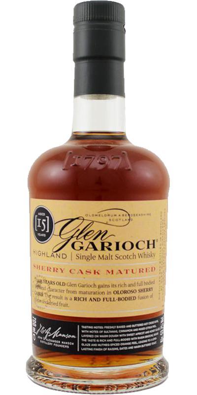 Glen Garioch 15-year-old