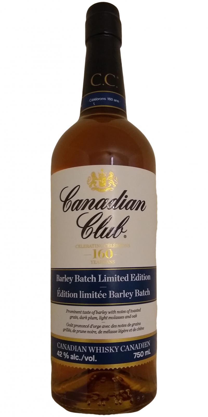 Canadian Club Barley Batch Edition