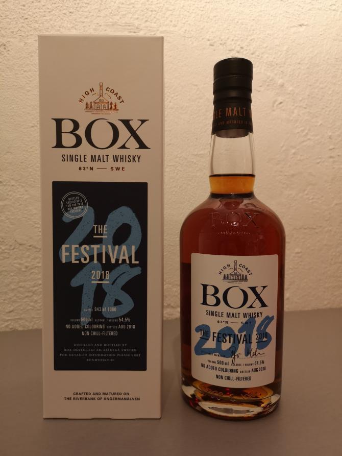 Box The Festival 2018