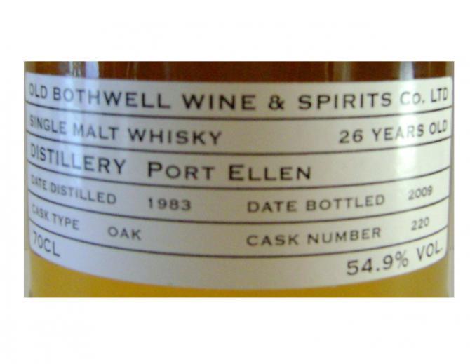 Port Ellen 1983 OB