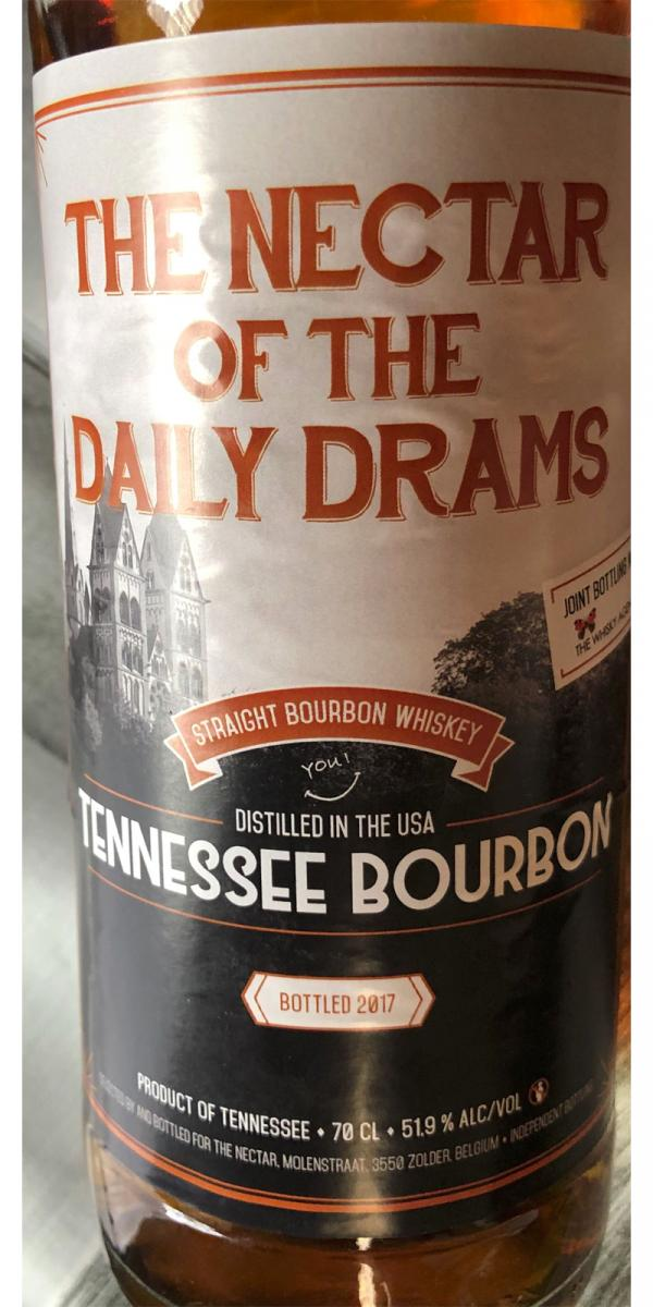 Tennessee Bourbon Straight Bourbon Whiskey DD