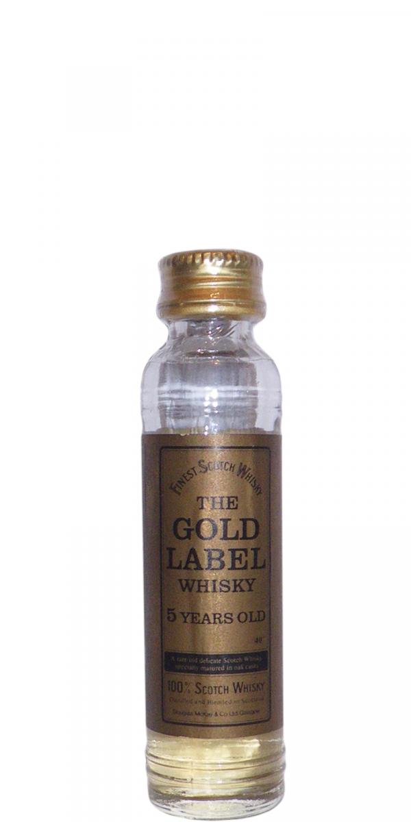 The Gold Label Whisky 05-year-old