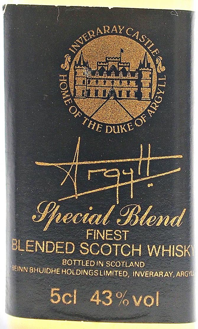 Argyll Special Blend