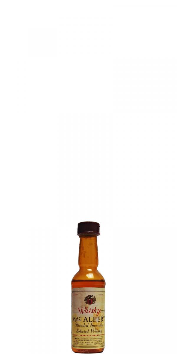 Mac Albert Whisky