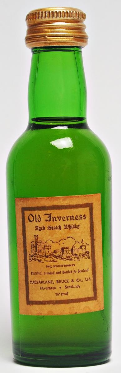 Old Inverness Aged Scotch Whisky