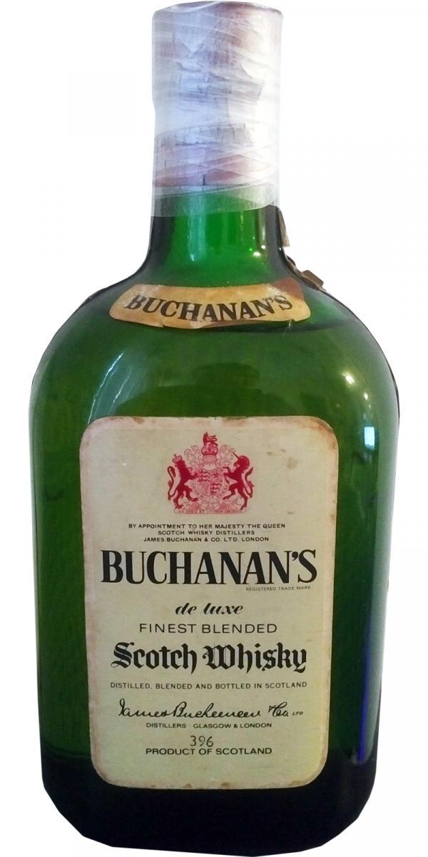 Buchanan's De Luxe Finest Blended Scotch Whisky