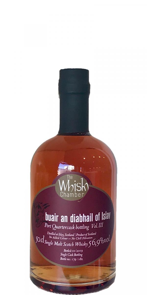 buair an diabhail of Islay Port Quartercask bottling Vol. III