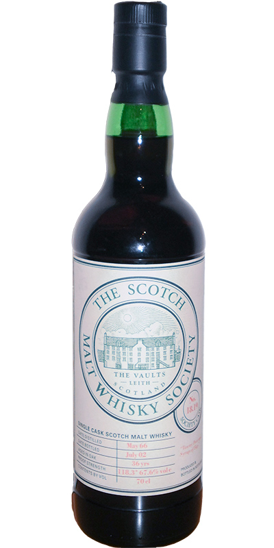Inchgower 1966 SMWS 18.19