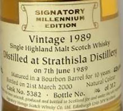 Strathisla 1989 SV
