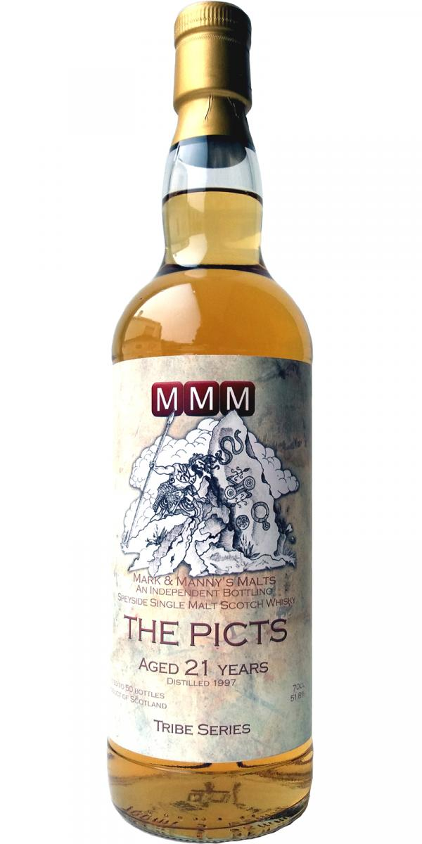 Speyside Single Malt Scotch Whisky The Picts 1997 MMM