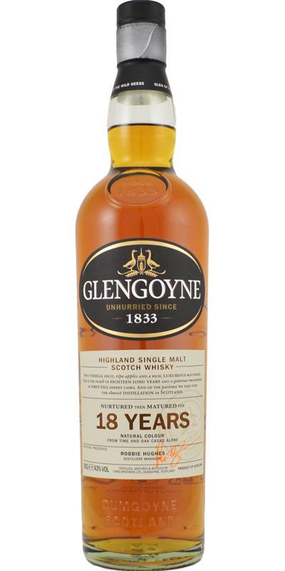 Glengoyne 18-year old