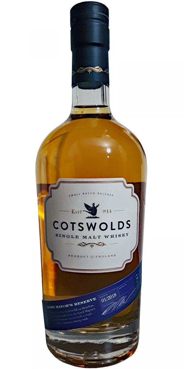 Cotswolds Distillery Lord Mayor's Reserve
