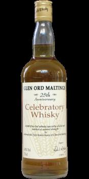 Glen Ord 1969 Celebratory