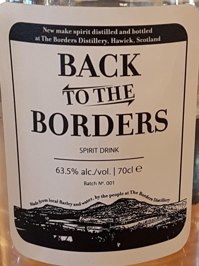 The Borders Distillery Back to the Borders