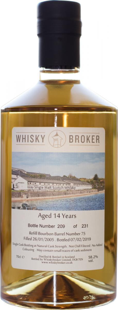 Islay Single Malt Scotch Whisky 2005 WhB