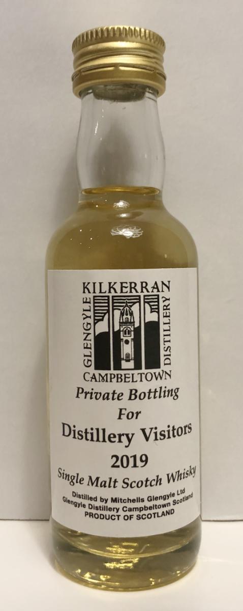 Kilkerran Distillery Visitors 2019