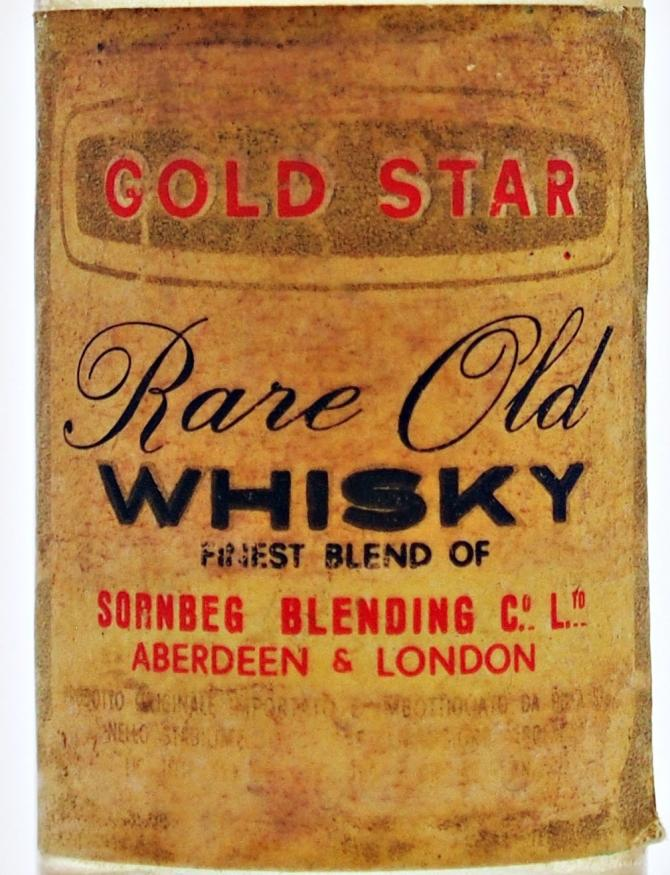 Gold Star Rare Old Whisky
