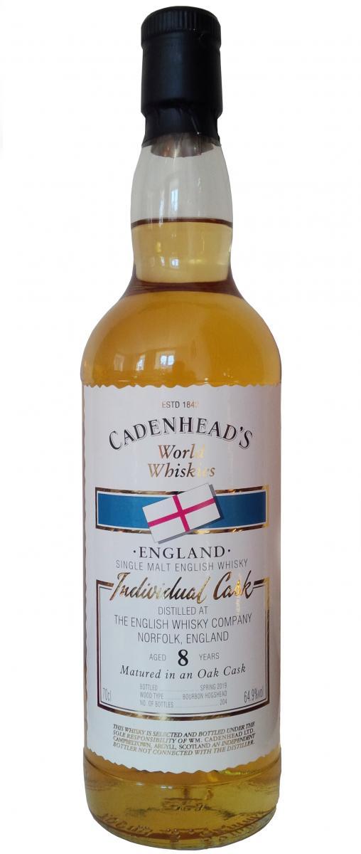 The English Whisky 2010 CA