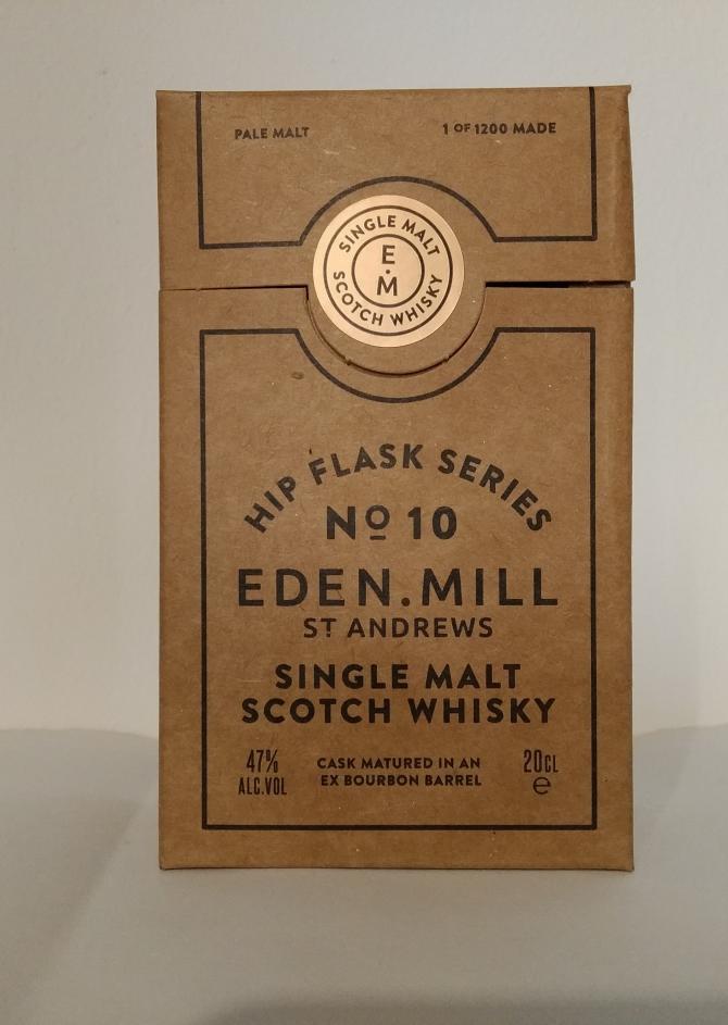 Eden Mill Hip Flask Series No. 10