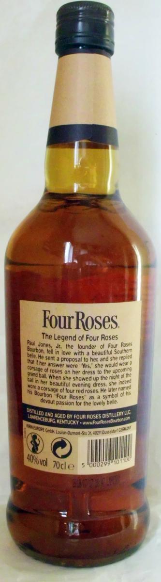 Four Roses Kentucky Straight Bourbon Whiskey