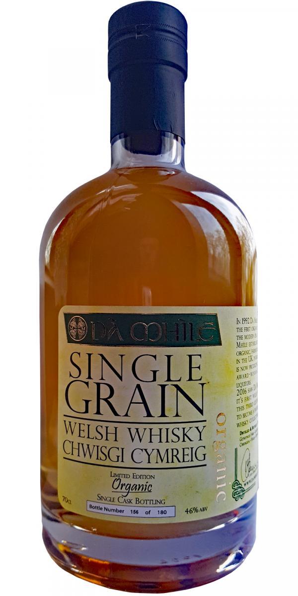 Dà Mhìle Organic Single Grain Welsh Whisky