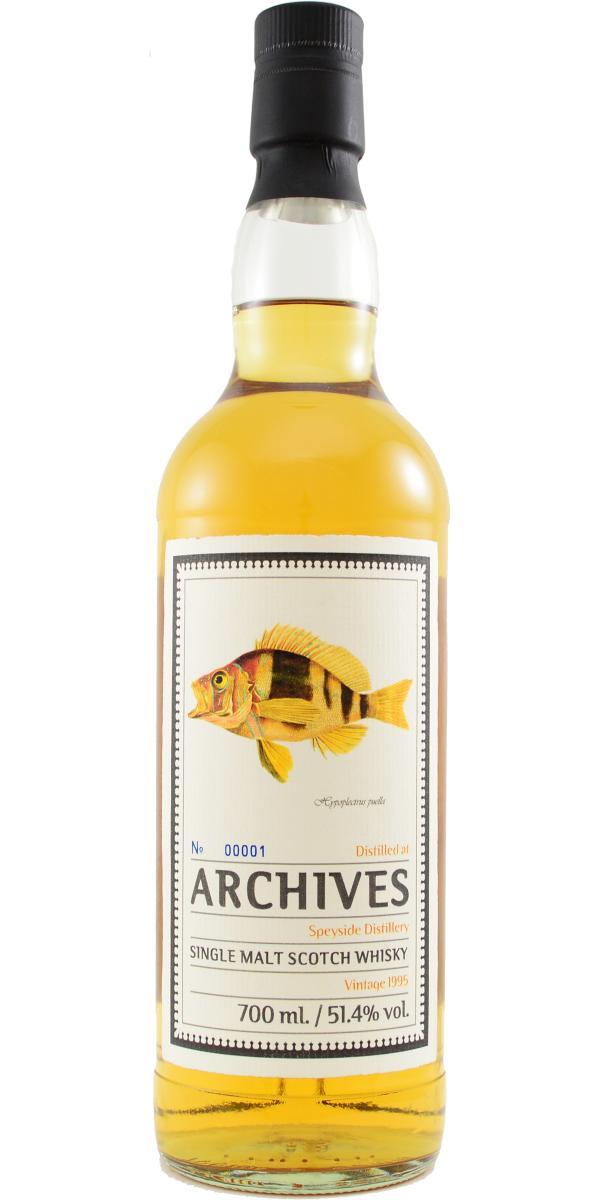 Speyside Distillery 1995 Arc