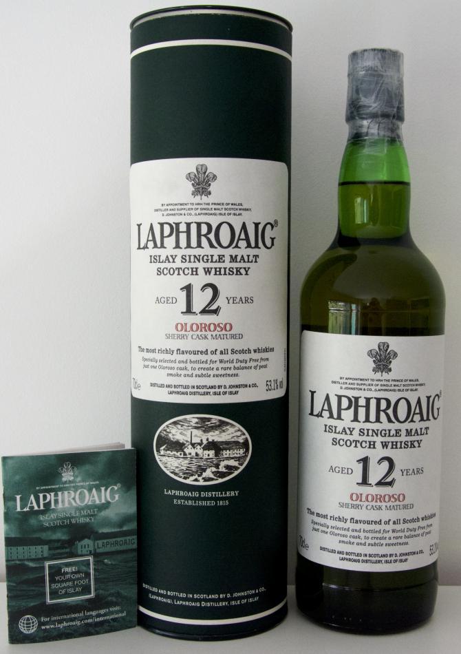 Laphroaig 12-year-old Oloroso