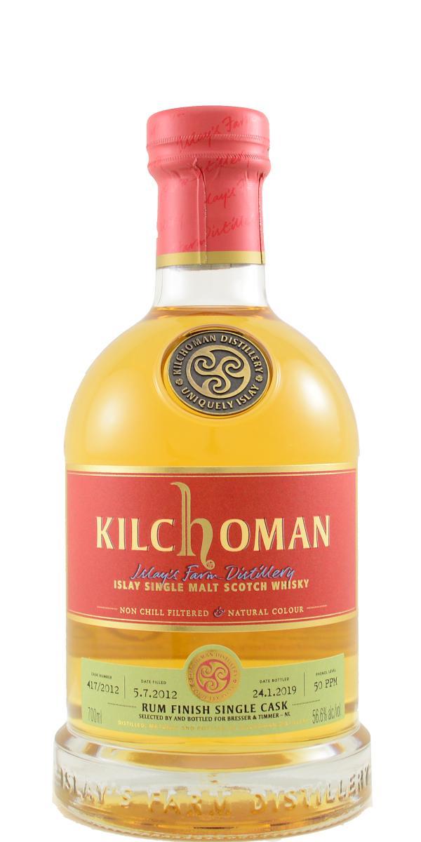 Kilchoman 2012