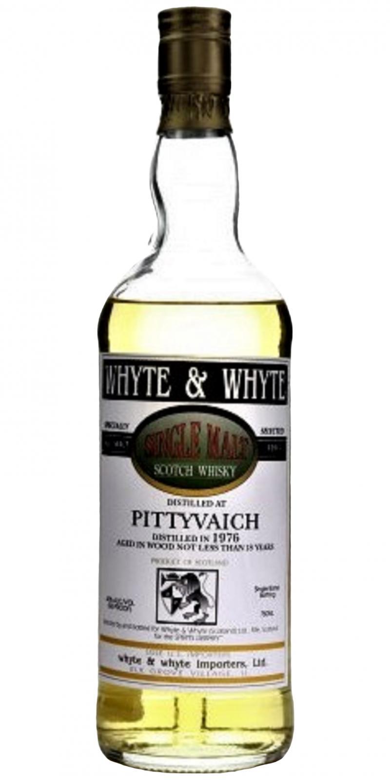 Pittyvaich 1976 W&W