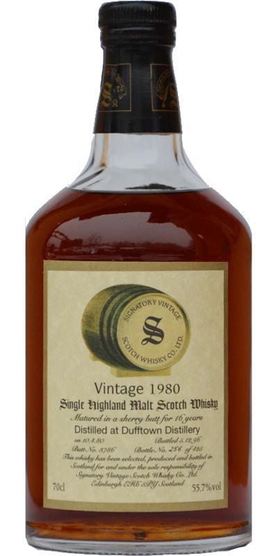 Dufftown 1980 SV
