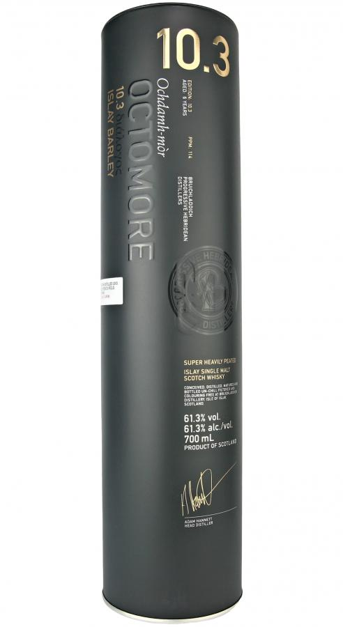 Octomore Edition 10.3 διάλογος / 114 PPM