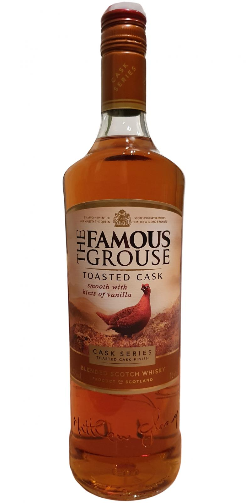 The Famous Grouse Toasted Cask