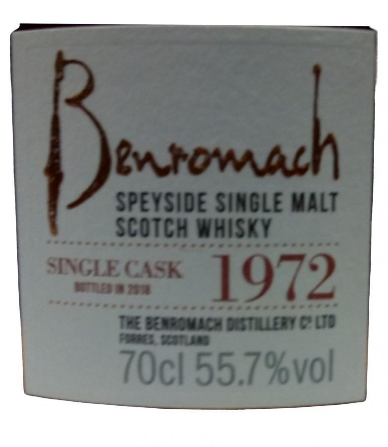 Benromach 1972 Heritage