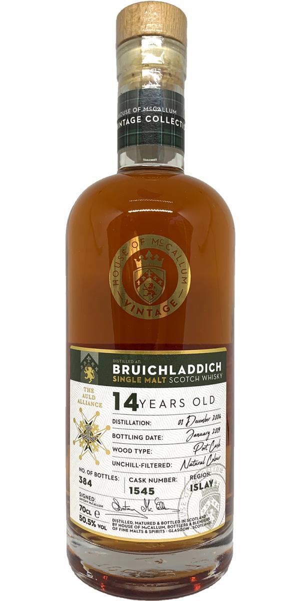 Bruichladdich 2004 HoMc