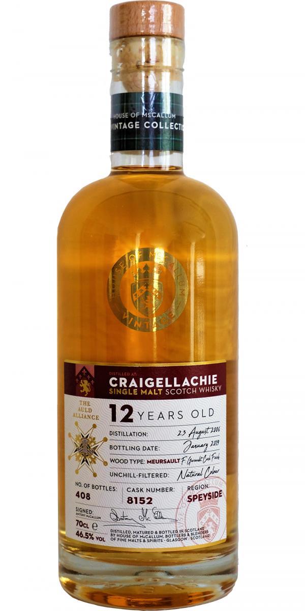 Craigellachie 2006 HoMc