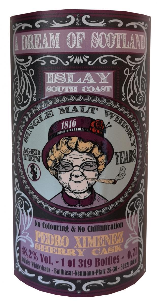 Islay South Coast 10-year-old BW