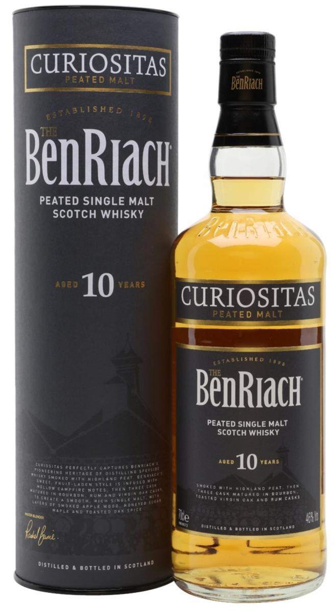 BenRiach Curiositas - Ratings and reviews - Whiskybase