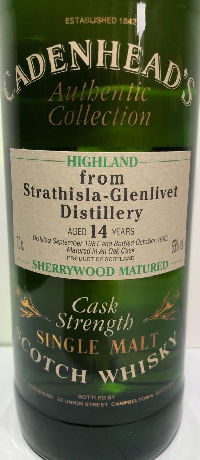 Strathisla 1981 CA
