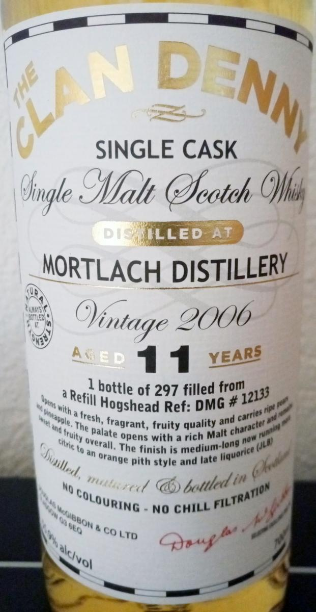 Mortlach 2006 McG