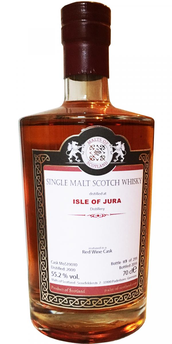 Isle of Jura 2000 MoS
