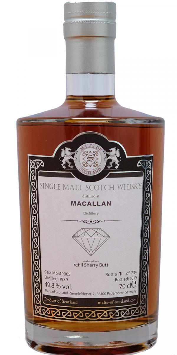 Macallan 1989 MoS