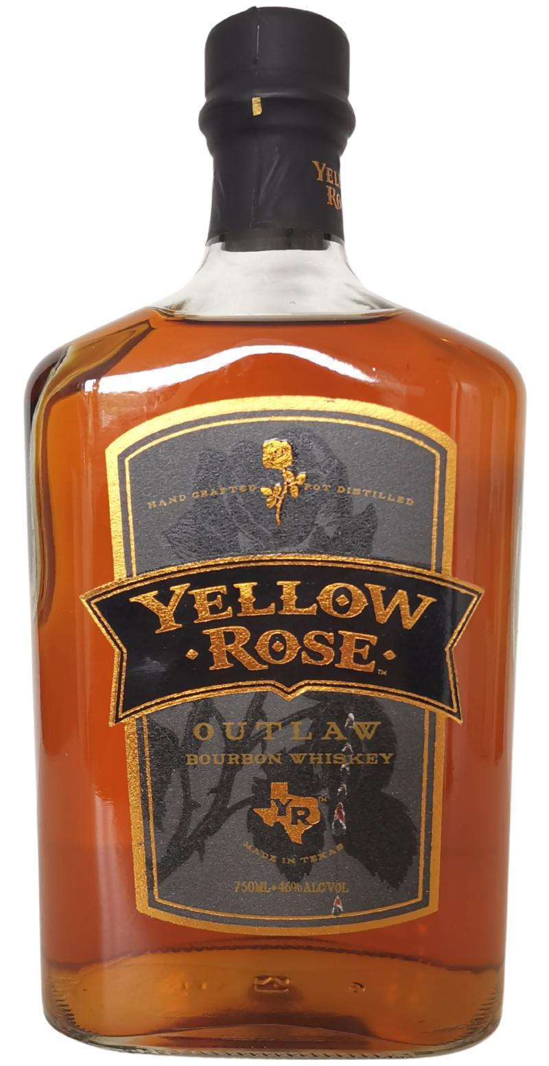 Yellow Rose Outlaw Bourbon Whiskey
