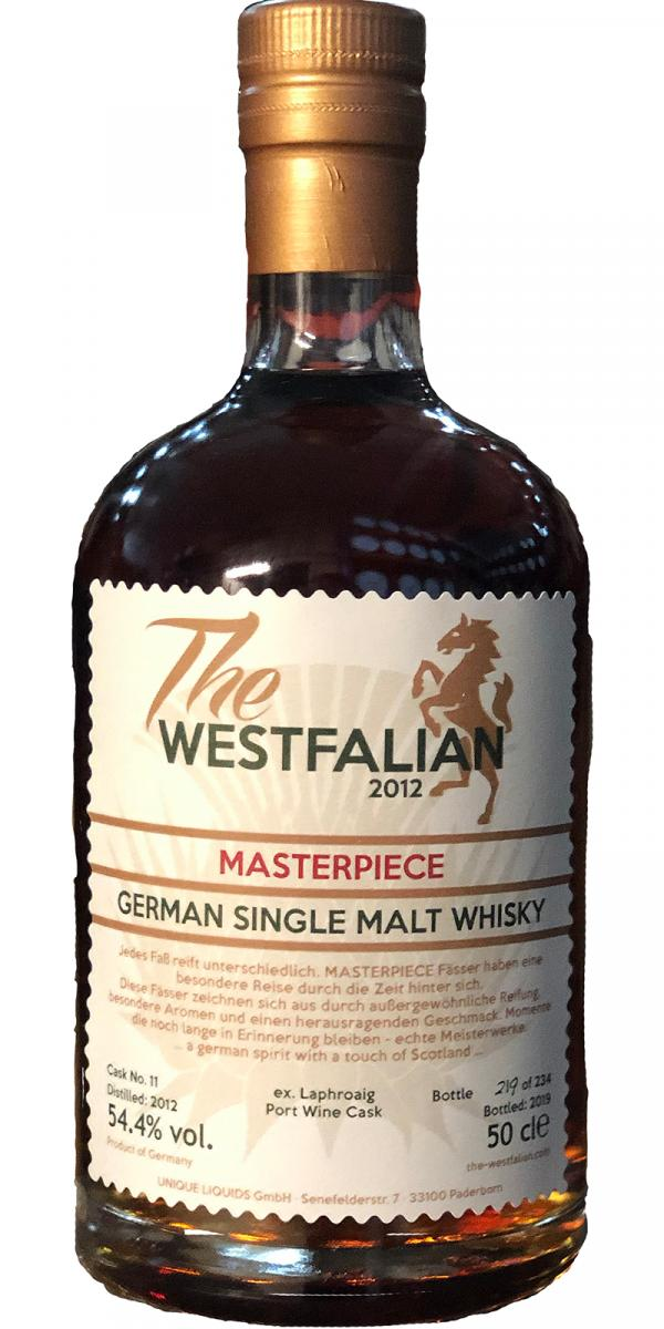 The Westfalian 2012 - Masterpiece