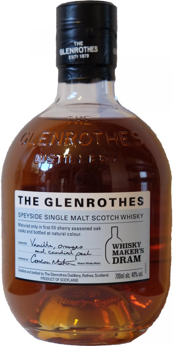 Glenrothes Whisky Maker's Dram