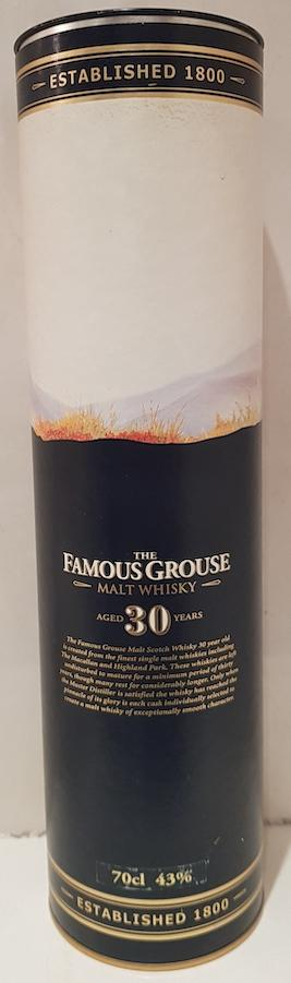 The Famous Grouse 30-year-old
