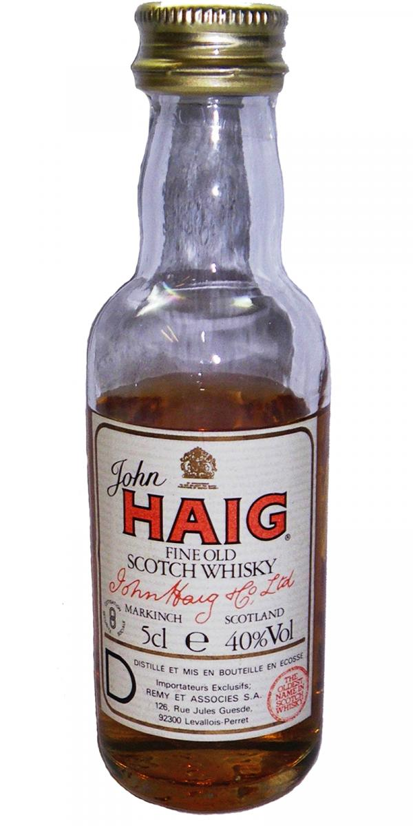 John Haig Fine Old Scotch Whisky