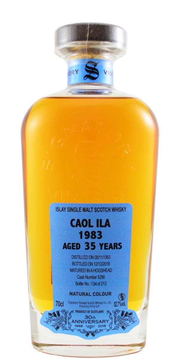 Caol Ila 1983 SV