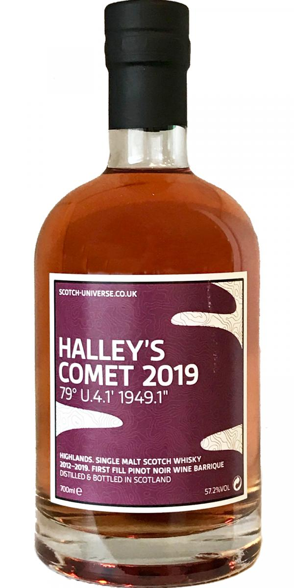 "Scotch Universe Halley's Comet 2019 - 79° U.4.1' 1949.1"""