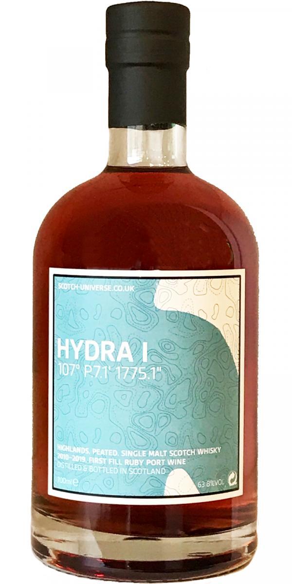"Scotch Universe Hydra I - 107° P.7.1' 1775.1"""