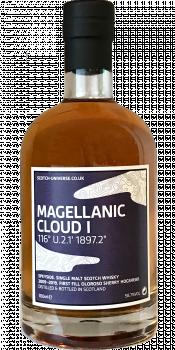 """Scotch Universe Magellanic Cloud I - 116° U.2.1' 1897.2"""""""